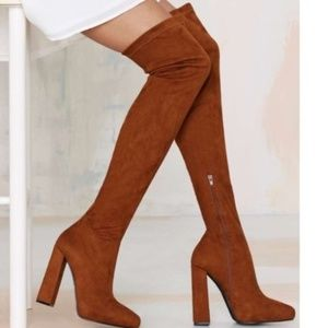 Jeffrey Campbell Isolate over-the-knee boots 6